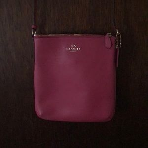 Coach Pink Crossbody Small Bag